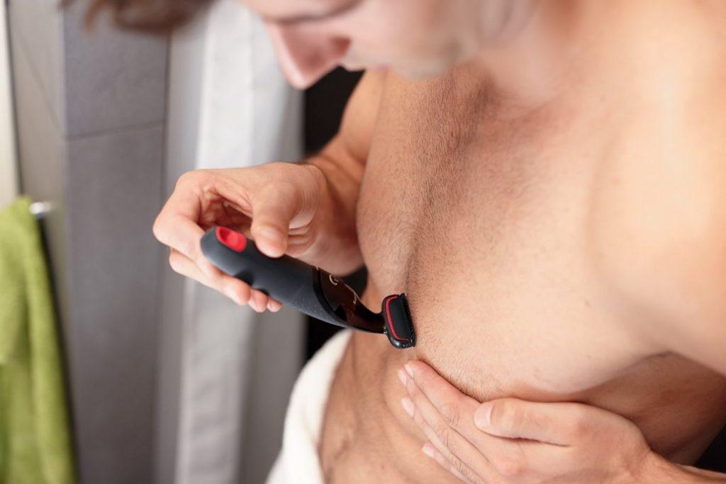 airalia afeitadora corporal pecho