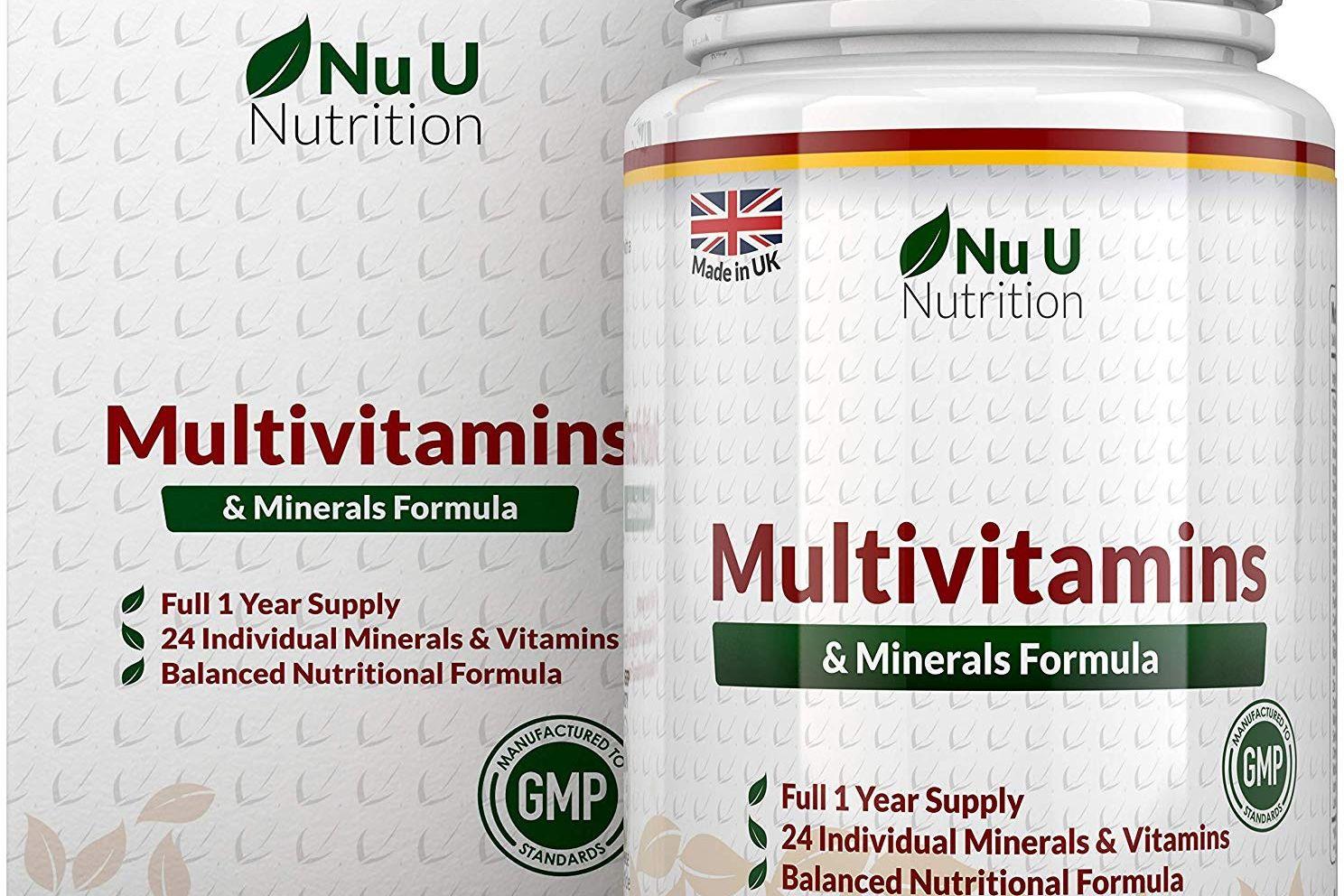 complejo vitaminico Nu U