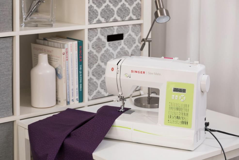 Singer Brilliance maquina de coser electronica