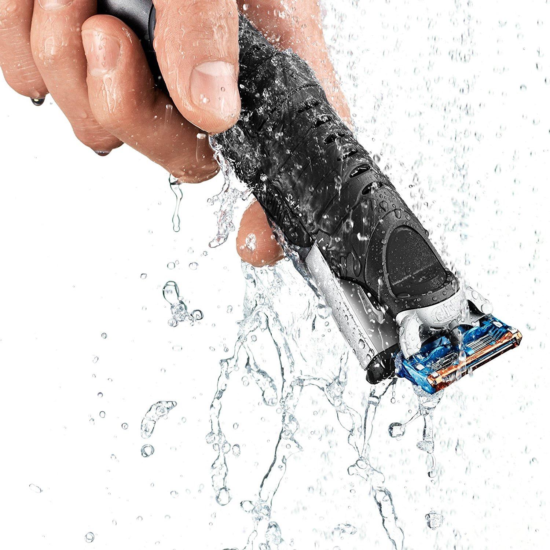 afeitadora corporal Braun BG5010 agua
