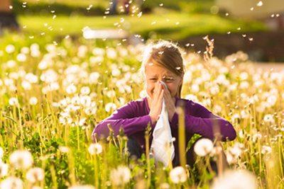Alergia asma purificador de aire