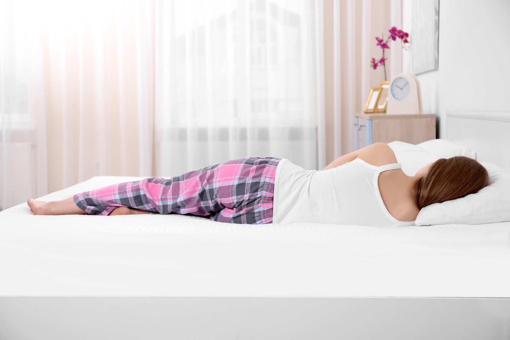 almohada viscoelastica postura