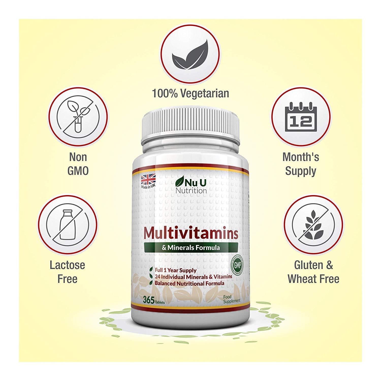 complejo vitaminico Nu U Nutrition