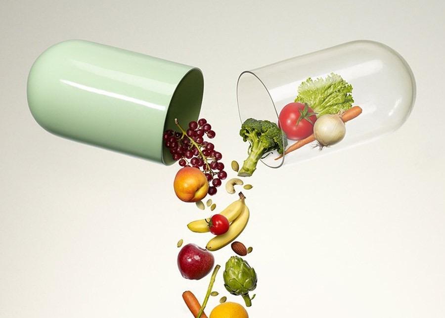 complejo vitaminico fruta verduras