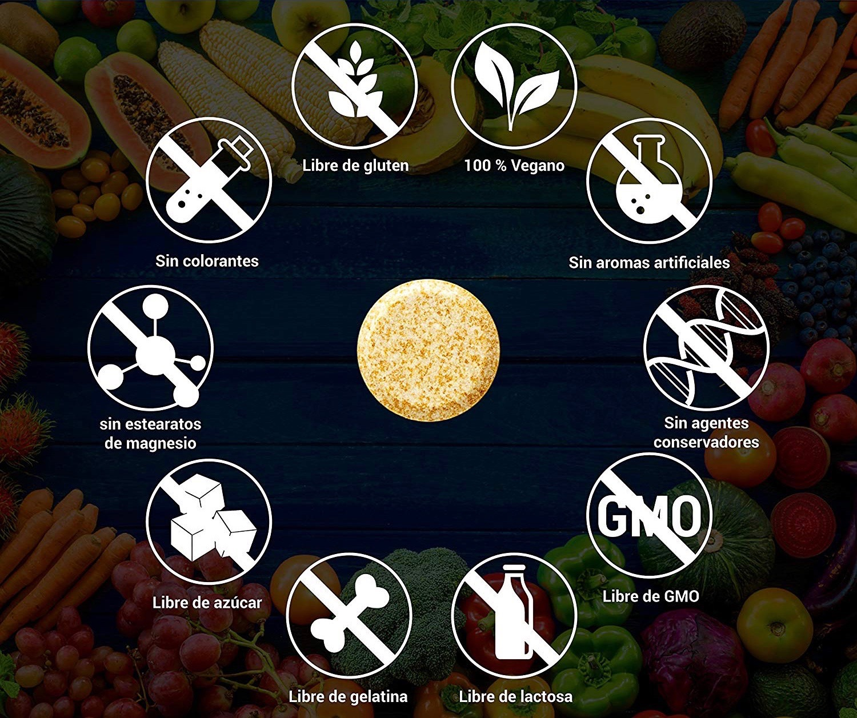 complejo vitaminico sin aditivos