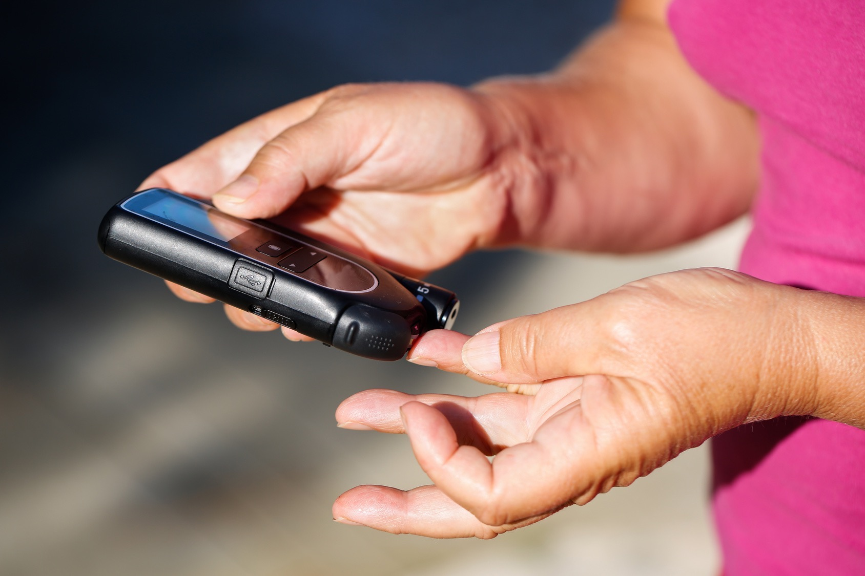 diabetes medidor glucosa
