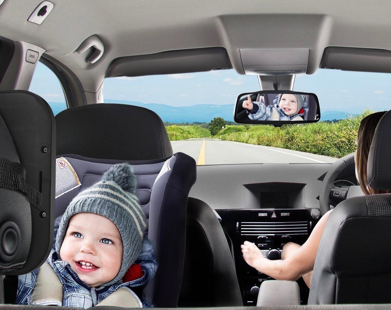 espejo coche bebes asiento trasero