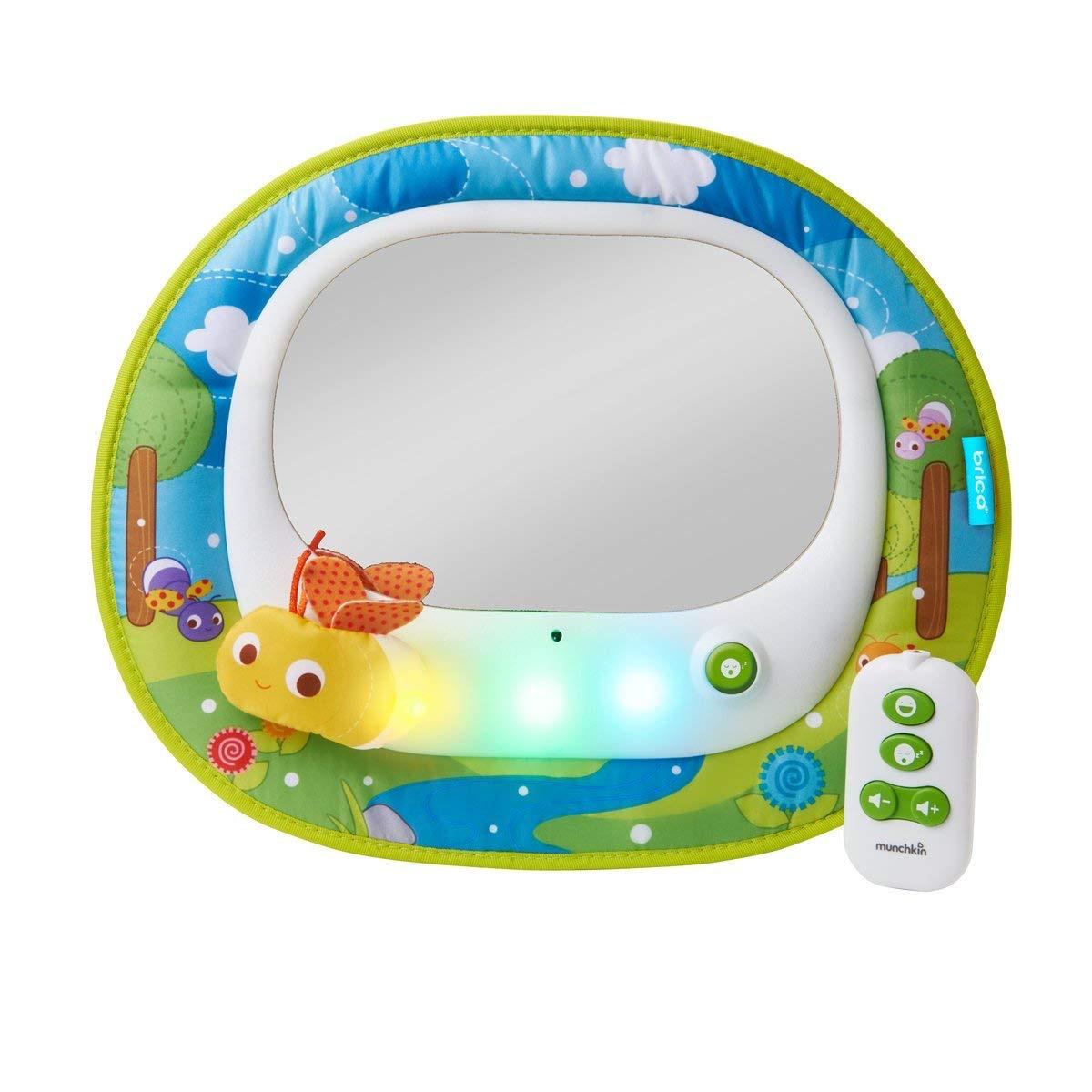 espejo coche bebes musical