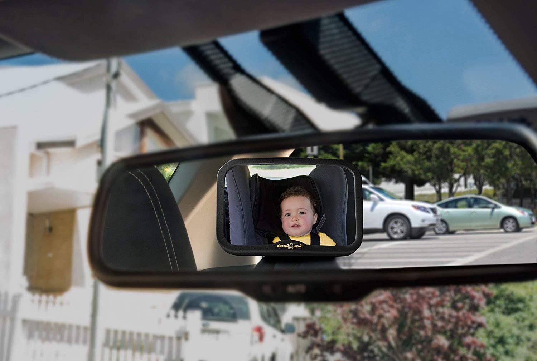 espejo de coche para bebes Royal Rascals2