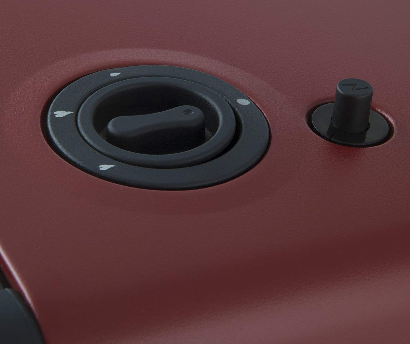 estufas de gas butano Orbegozo HBF95 termostato