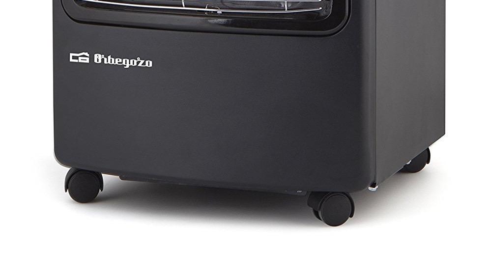 estufas de gas butano Orbegozo HCE73 ruedas