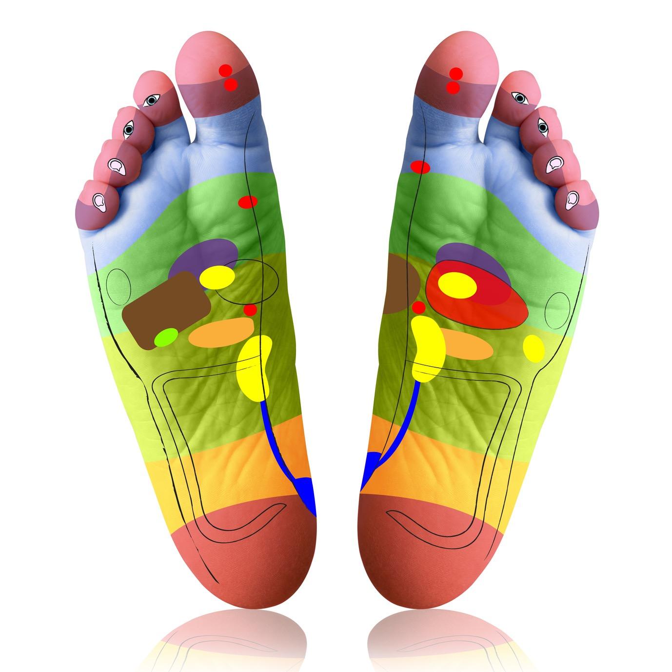 masajeador de pies reflexologia