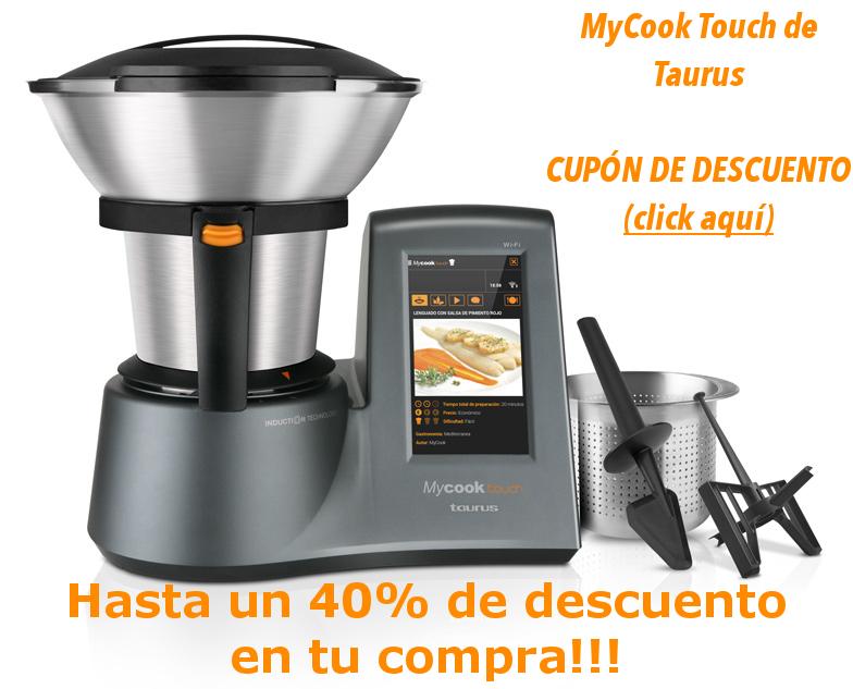 mycook touch robot de cocina