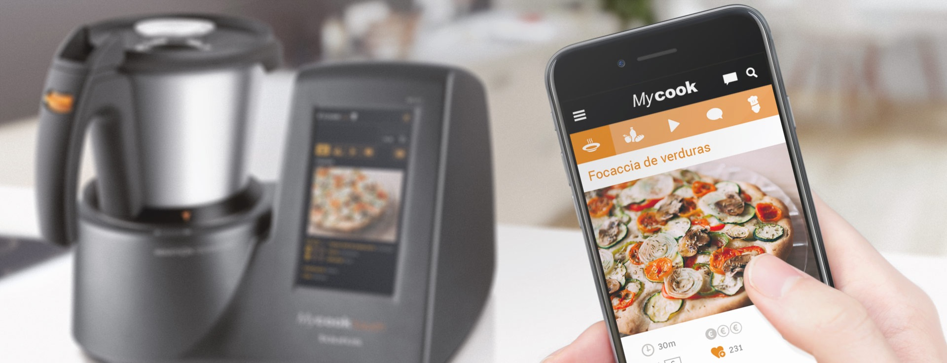 mycook touch mobile app