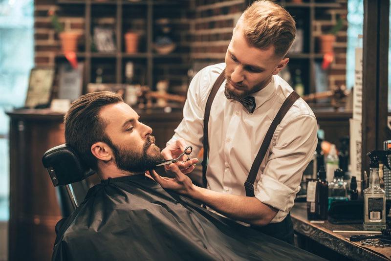 recortadora de barba barbero