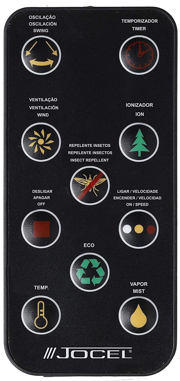 ventilador nebulizador mando