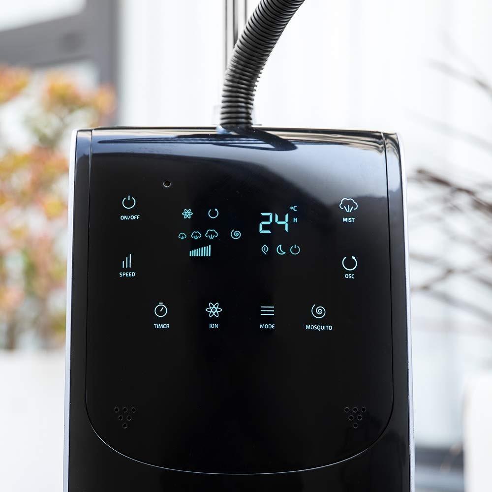 ventilador nebulizador pantalla