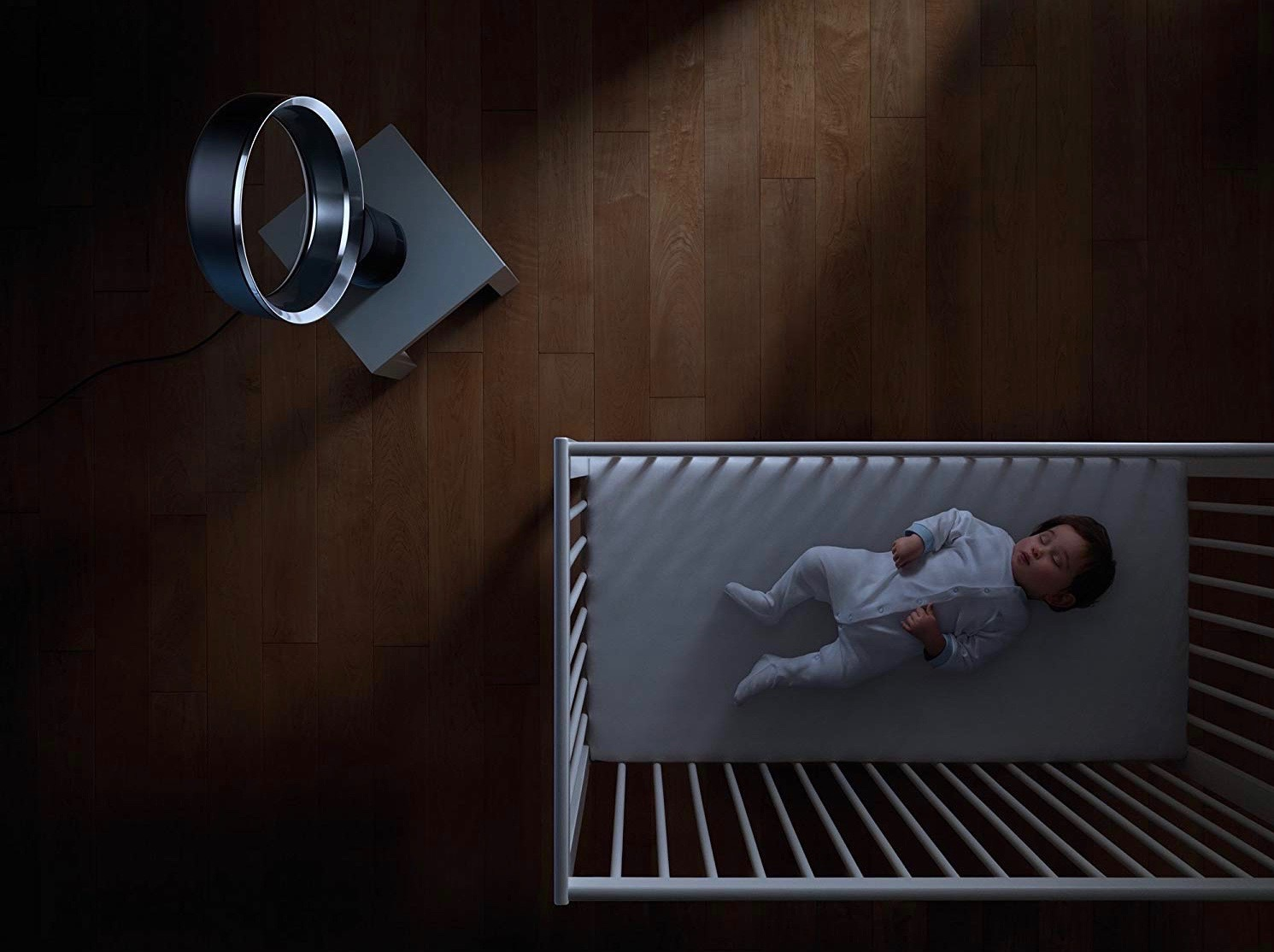 ventilador sin aspas Dyson AM06 silencioso seguro