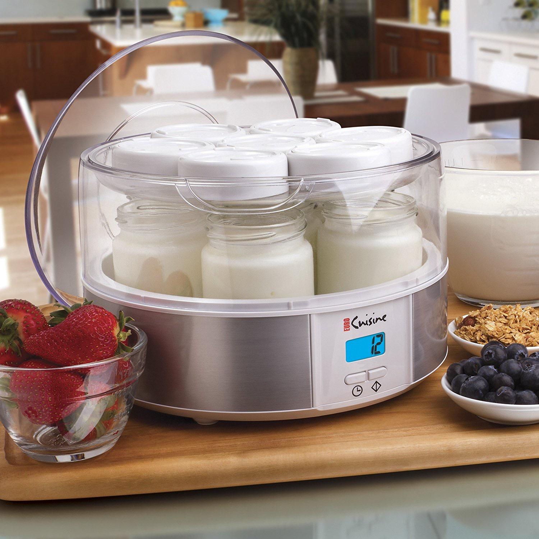 yogurtera coccion enfriamiento