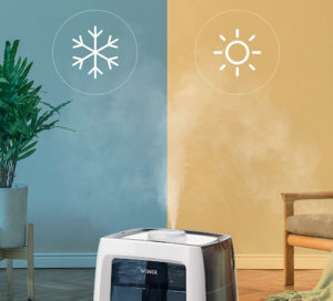 humidificador de vapor frío