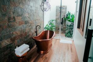 mini deshumidificador baño