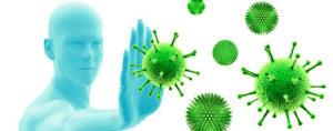 protección de virus y bacterias