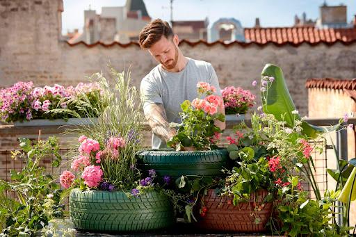 cómo hacer un jardín ecológico en casa