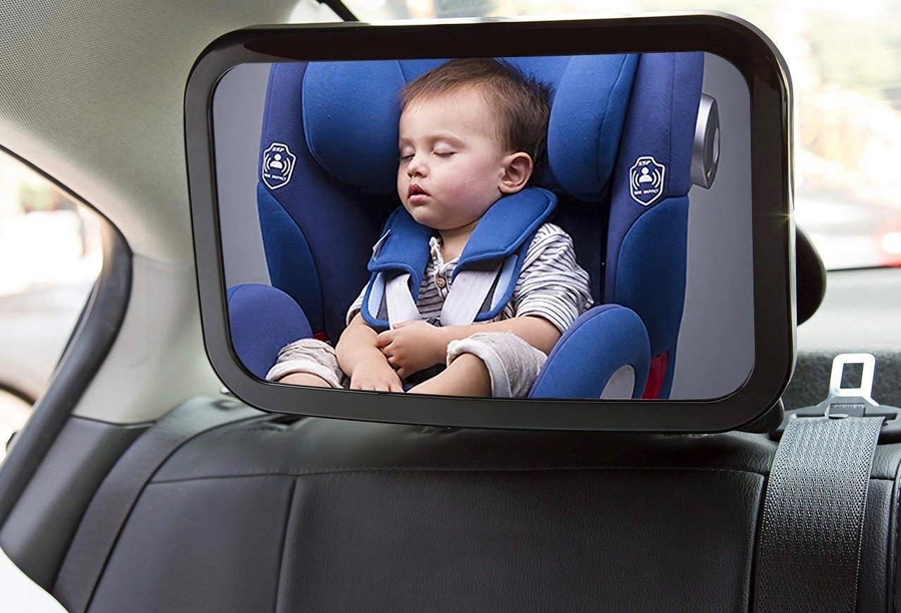El mejor espejo de coche para beb s gu a de compra del for Espejo retrovisor coche bebe