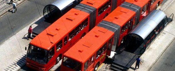 Jaime Lerner Metro sobre ruedas