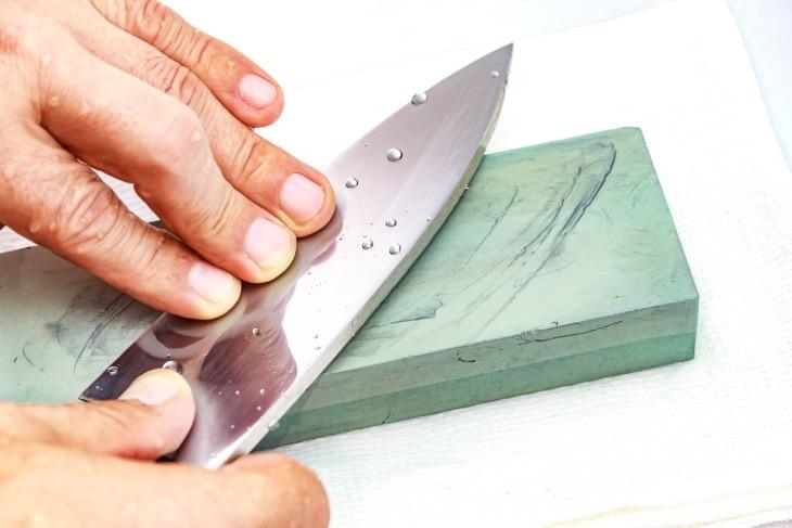 afilador de cuchillos piedra de afilar